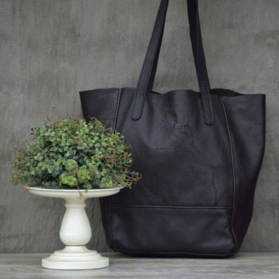 Margaretha Tote - Dark Brown