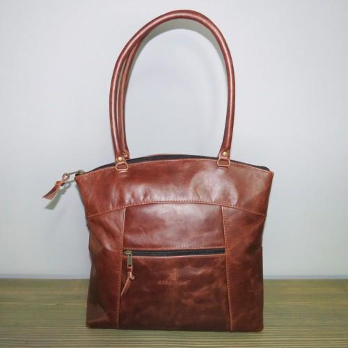 Mieke Bag Large – Dark Brown