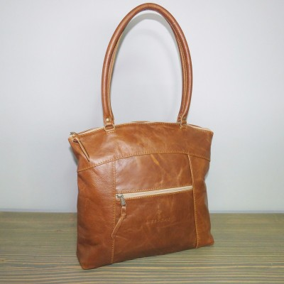 Mieke Bag Large – Brown