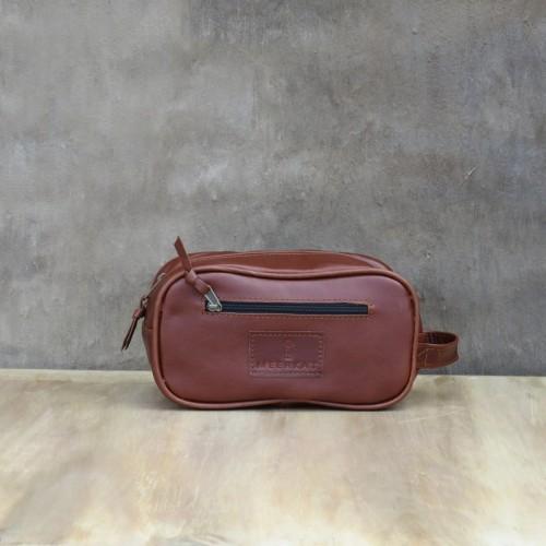 Shower Bag – Brown